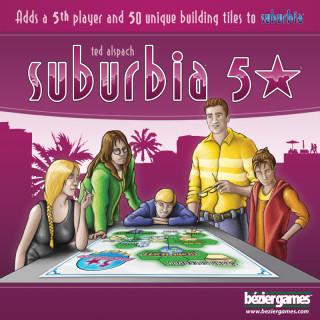 Suburbia: 5 Stars kiegészítõ Ajándéktárgyak