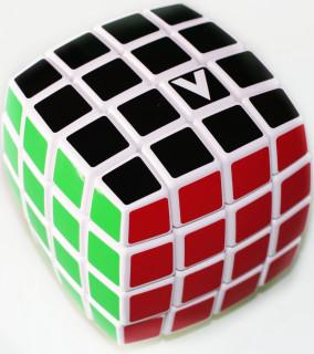 V-CUBE 4X4 versenykocka, fehér, lekerekített, matrica nélküli Ajándéktárgyak