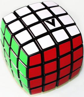V-CUBE 4x4 versenykocka, fekete, lekerekített Ajándéktárgyak