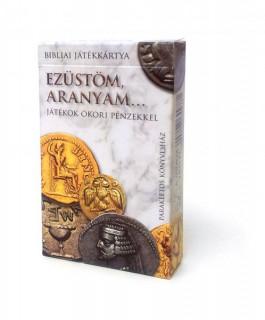 Ezüstöm, aranyam.... bibliai játékkártya-ókori pénzekkel Ajándéktárgyak