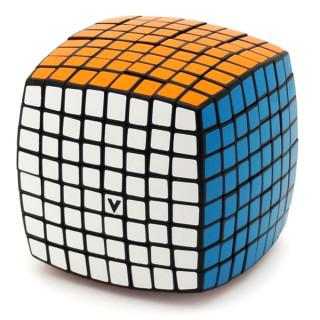 V-CUBE 8x8 versenykocka, fekete, lekerekített Ajándéktárgyak