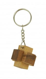 RG Mini Brick, fa ördöglakat kulcstartó Ajándéktárgyak