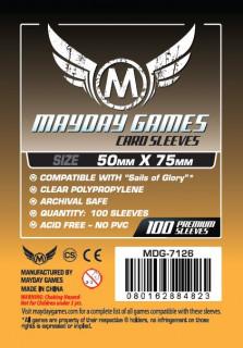 Mayday kártyavédõ (sleeve) -50x75 mm (100 db/csomag) Ajándéktárgyak