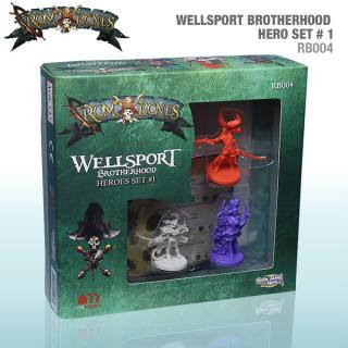 Rum & Bones: Wellsport Brotherhood Hero Set 1 Ajándéktárgyak