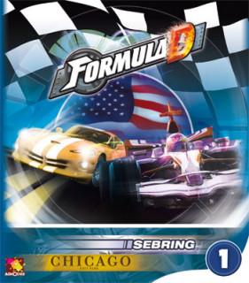 Formula D: új pályák 1 - Sebring & Chicago Ajándéktárgyak