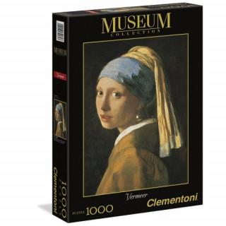 Clementoni 1000 db-os puzzle - Leány gyöngy fülbevalóval 39282 Ajándéktárgyak