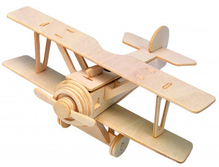 Gepetto's Workshop - Duplaszárnyú repülõ - 3D puzzle Ajándéktárgyak
