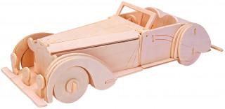 Gepetto's Workshop - Nyitott tetejű oldtimer - 3D fapuzzle Ajándéktárgyak