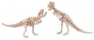 Gepetto's Workshop - Tyrannosaurus 2 az 1-ben - 3D fapuzzle Ajándéktárgyak