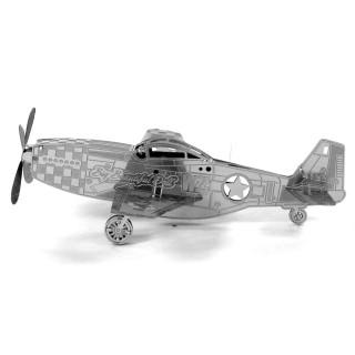 Metal Earth - Mustang P-51 - 3D fémépítő Ajándéktárgyak