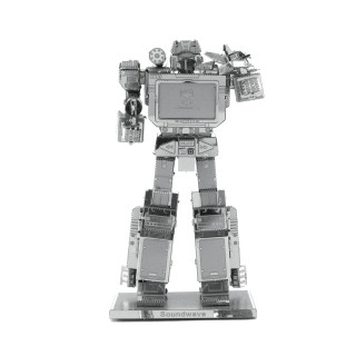 Metal Earth - Transformers Soundwave - 3D fémépítõ Ajándéktárgyak