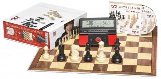 Sakk készlet digitális sakkórával 685963 Ajándéktárgyak