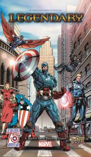 Legendary: Captain America 75th Anniversary kiegészítõ Ajándéktárgyak
