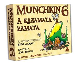 Munchkin 6 - A kazamata zamata Ajándéktárgyak