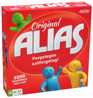 Original Alias társasjáték AJÁNDÉKTÁRGY