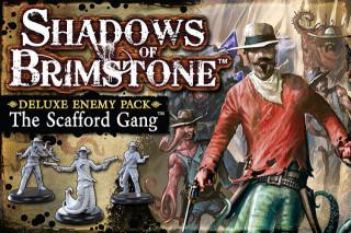 Shadows of Brimstone: Scafford Gang Deluxe Enemy Pack kiegészítő Ajándéktárgyak
