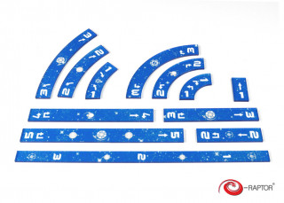 Star Wars X-Wing Ruler Set (kék) Ajándéktárgyak