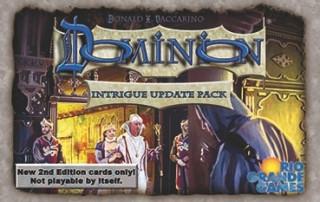 Dominion Intrigue Update Pack kiegészítő Ajándéktárgyak