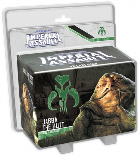 Star Wars: Imperial Assault - Jabba the Hutt Villain Pack Ajándéktárgyak