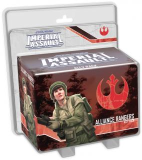 Star Wars: Imperial Assault - Alliance Rangers Ally Pack Ajándéktárgyak