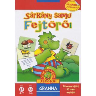 Sárkány Samu fejtörői (új kiadás) Ajándéktárgyak