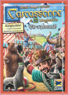 Carcassonne - Vár a porond (10. kiegészítõ) Ajándéktárgyak