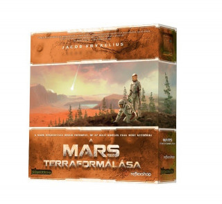 A Mars Terraformálása társasjáték Ajándéktárgyak