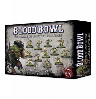 Blood Bowl: Scarcrag Snivellers goblin csapat Ajándéktárgyak