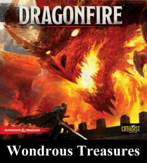 Dragonfire: Wondrous Treasures kiegészítő Ajándéktárgyak