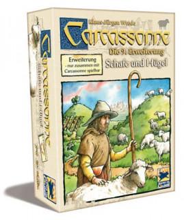 Carcassonne - 9. kiegészítõ -Schafe und Hügel Ajándéktárgyak