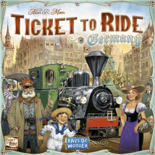 Ticket to Ride Germany Ajándéktárgyak
