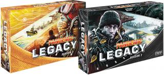 Pandemic: Legacy - Season 2 (Sárga doboz) Ajándéktárgyak