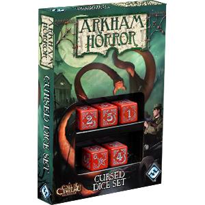 Arkham Horror Dice Set - Cursed Dice Ajándéktárgyak
