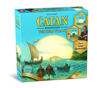 Catan kiegészítő - Tengeri Utazó Jubileumi kiadás Ajándéktárgyak
