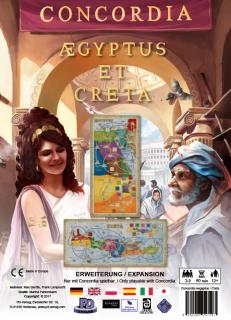 Concordia: Aegyptus & Creta kiegészítő Ajándéktárgyak