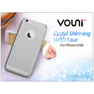Vouni ST969431 SHINNING iPhone 6/6S Smoky fekete hátlap PC