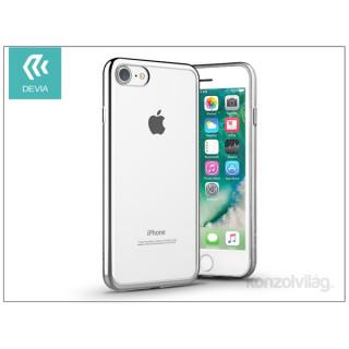 Devia ST992651 GLITTER SOFT iPhone 7 ezüst hátlap PC