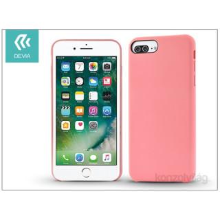 Devia ST994372 CEO 2 iPhone 7+ rózsaszín hátlap PC