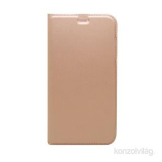 Cellect BOOKTYPE-IPH8-RGD iPhone 8 rózsaarany oldalra nyíló flip tok PC
