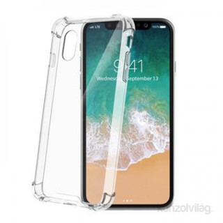 CELLY ARMOR900WH Celly iPhone X átlátszó keretű hátlap PC