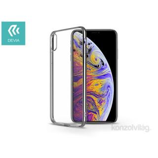Devia ST314865 Glitter iPhone X/XS ezüst hátlap PC
