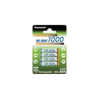 Panasonic Eneloop AAA 1000mAh mikro ceruza akkumulátor 4db/bliszter PC