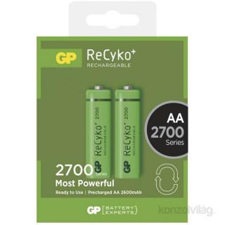 GP ReCyko+ ceruza (AA) akku 2700mAh 2db/blister PC