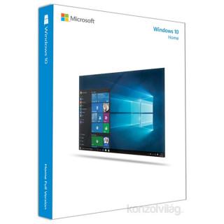Microsoft Windows 10 Home 32-bit GER 1 Felhasználó Oem 1pack operációs rendszer szoftver PC