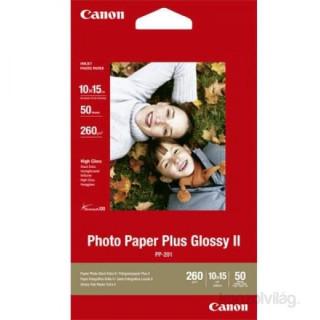 Canon PP201S fényes 10x15 50 lap 275g fotópapír PC
