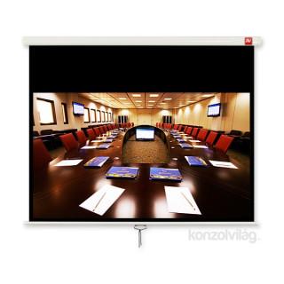 Avtek Cinema 240 16:9 230x129,5cm matt fehér rolós vetítővászon fekete kerettel PC