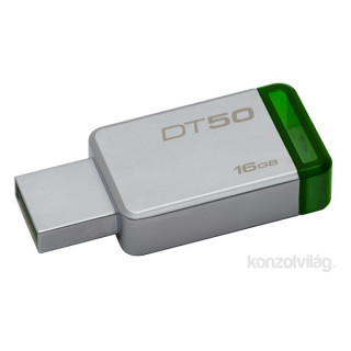 Kingston 16GB USB3.0 Ezüst-Zöld (DT50/16GB) Flash Drive PC