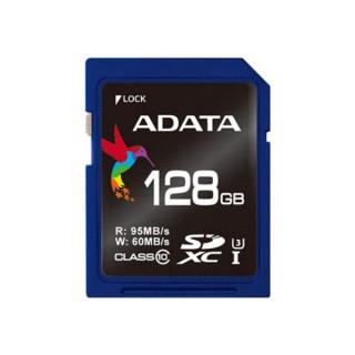 ADATA 128GB SD Premier Pro (SDXC Class 10 UHS-I U3) (ASDX128GUI3V30S-R) memória kártya PC