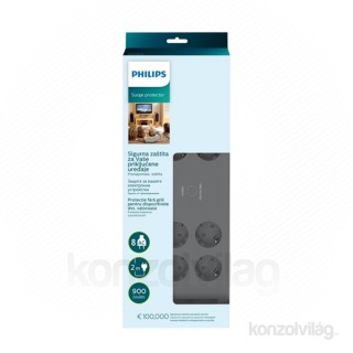 Philips SPN3180A 8 csatlakozós túlfeszültségvédő PC