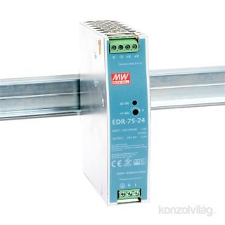 Mean Well EDR-75-24 24V 75W DIN Rail tápegység PC